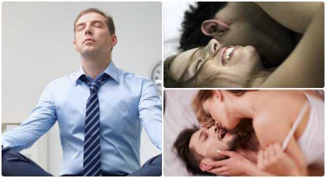 como aguantar la eyaculacion masculina