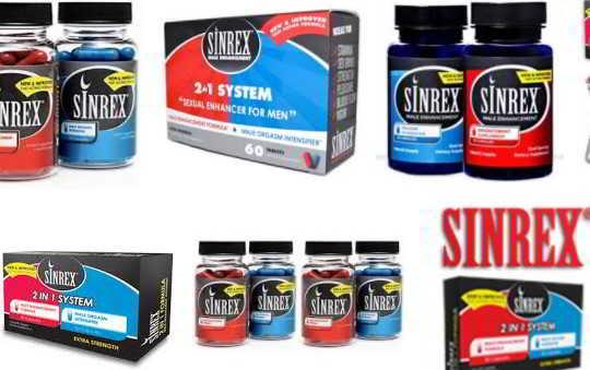 pastillas sinrex